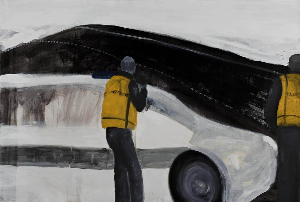 Untitled 2012 oil & acrylic on canvas 120X180