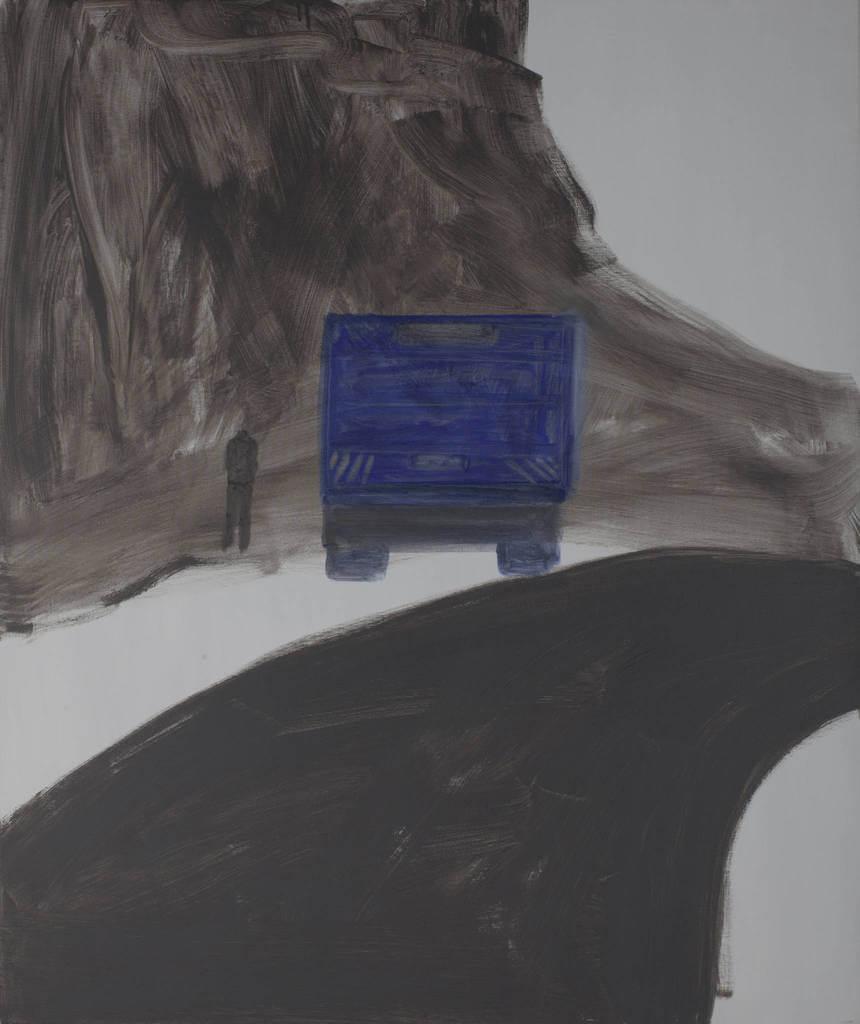 Untitled 2012 oil & acrylic on canvas 100X120