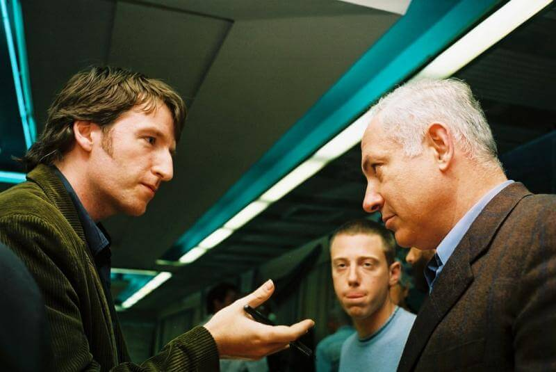 Matt Rees of TIME on a flight with Benjamin Netanyahu