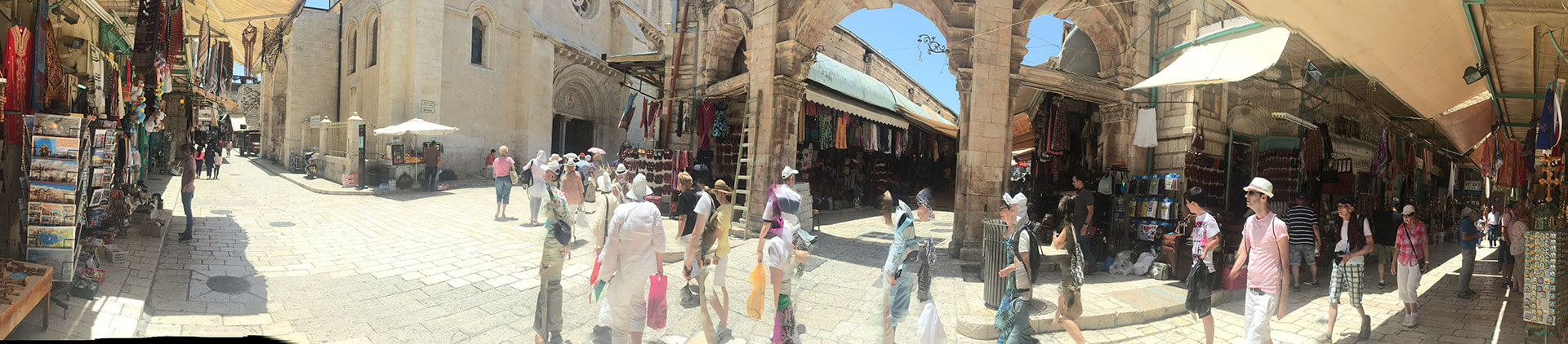 Old City market, Jerusalem.