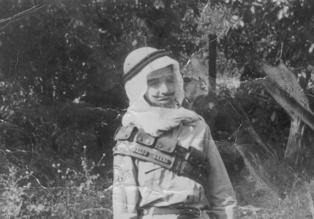 יוסף בילדותו מחופש לערבי