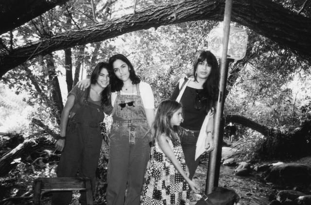 בנות המשפחה: אתי, נועה, עדי ונטע ג'ינו