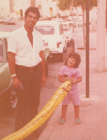 יוסי ג'ינו וביתו הבכורה עדי