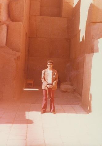 'שיאמינו.' כך כתב יוסי ג'ינו ליד הצמונה באלבום ממצרים