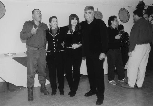 יומולדת 50 לג'ינו ופופי עם אתי וטלי. 1997