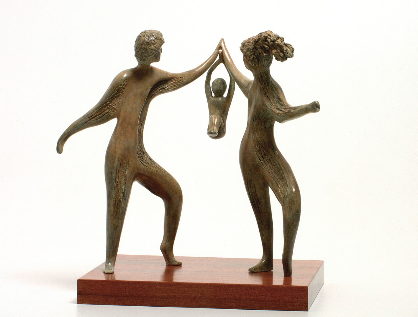 31. A Moment of Joy  | Bronze | 50x35 cm. 20x14 in.