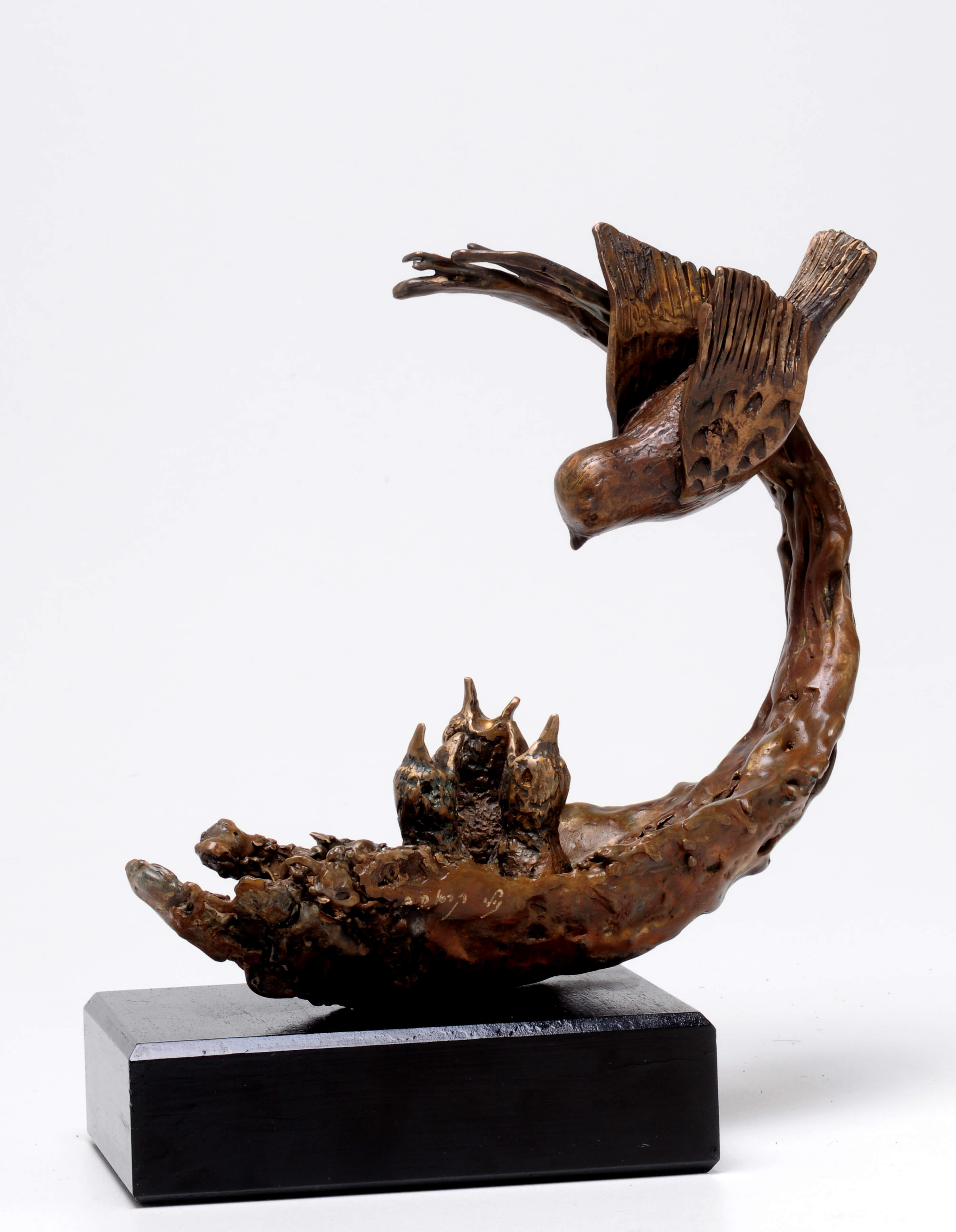 39. My Littlel Birds | Bronze | 21X13 cm.