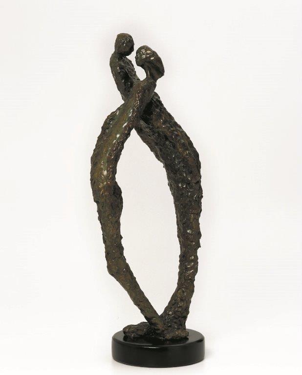 21. Duality  | Bronze | 70x40 cm. 28x16 in.