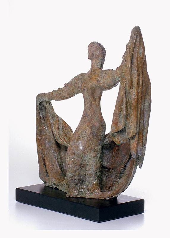 27. Miriam | Bronze | 55x18 cm. 22x7 in.