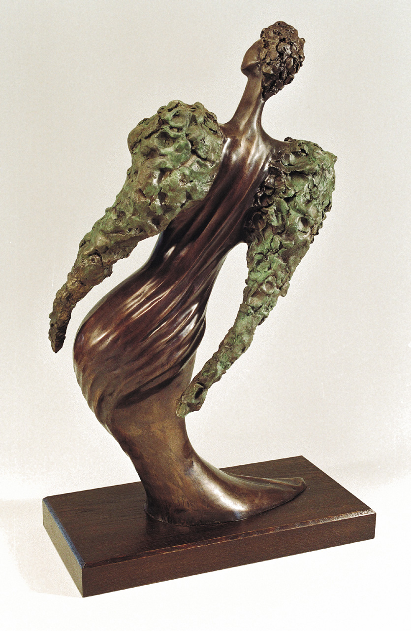 09. A Glance | Bronze  | 65x35 cm. 25x14 in.
