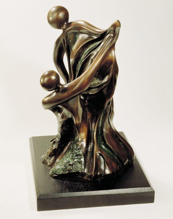 10. Take A Wing  | Bronze | 50x35 cm. 20x12 in.