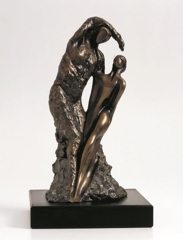 23. She and He  | Bronze | 45x20 cm. 18x8 in.