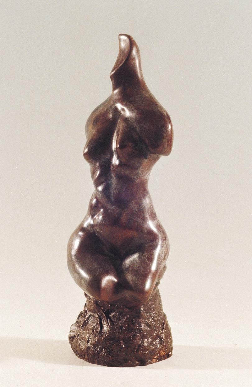 17. Torso | Bronze | 37x14 cm. 14x5 in.