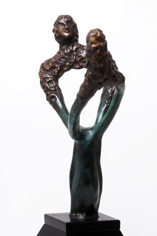 40.  Etrnity  | Bronze | 66X40 cm.