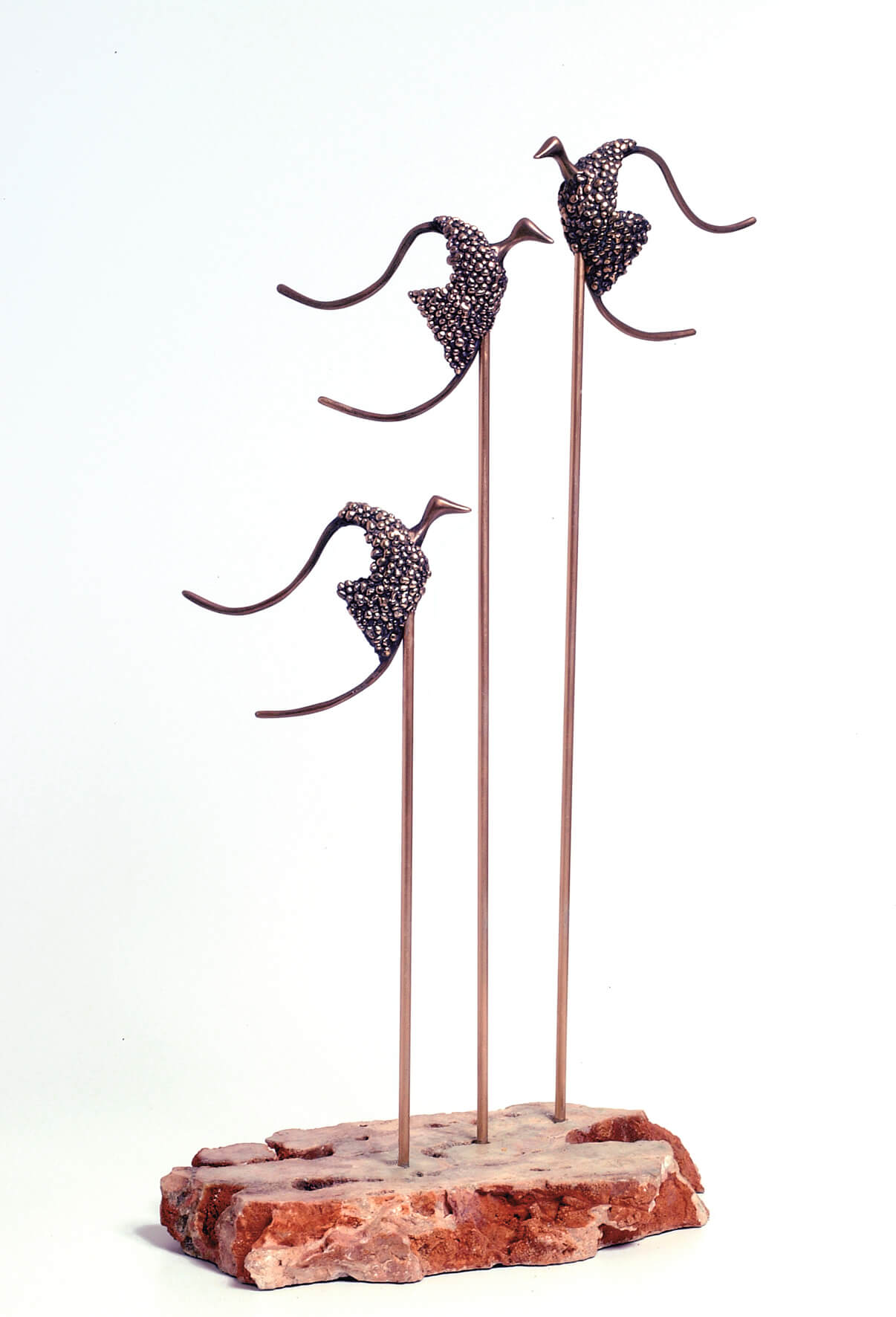 28. Birds | Bronze | 65x35 cm. 26x14 in.