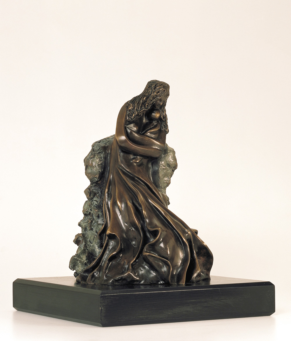 20. Mother's Love  | Bronze | 35x26 cm. 14x10 in.