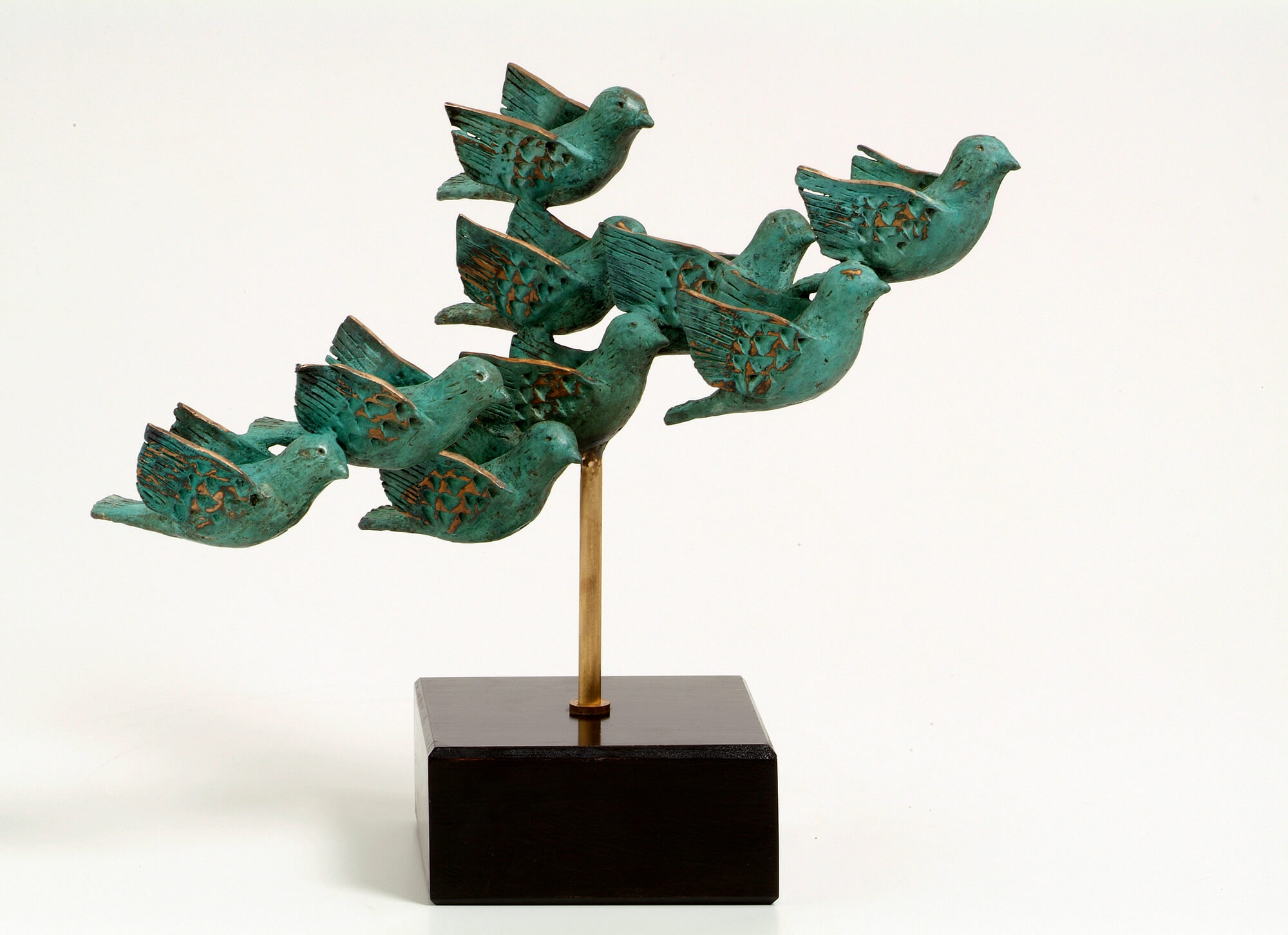 37. The Flock | Bronze | 43x36 cm. 17x14 in.