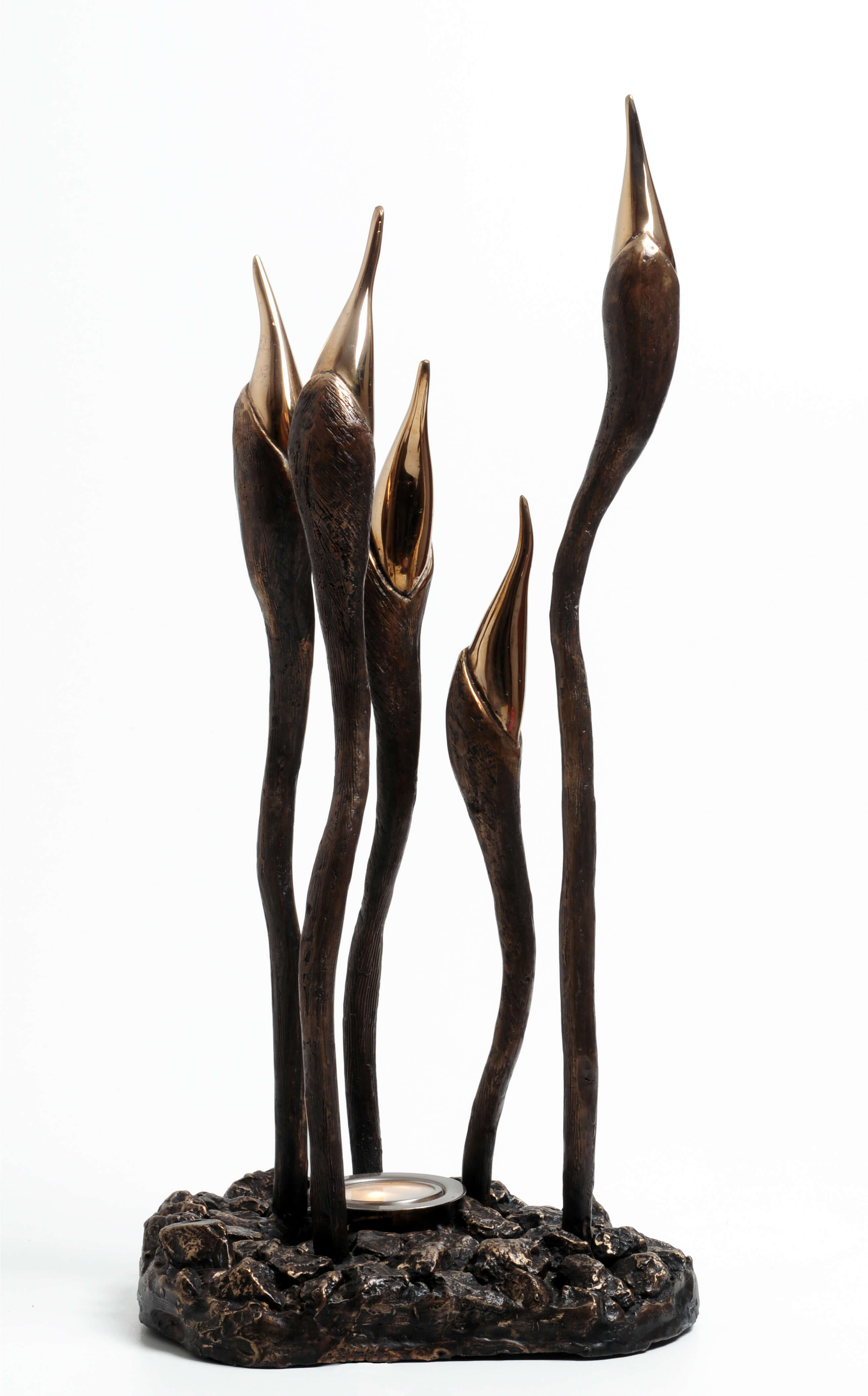 41. Reach for the Sky | Bronze | 53X26 cm.