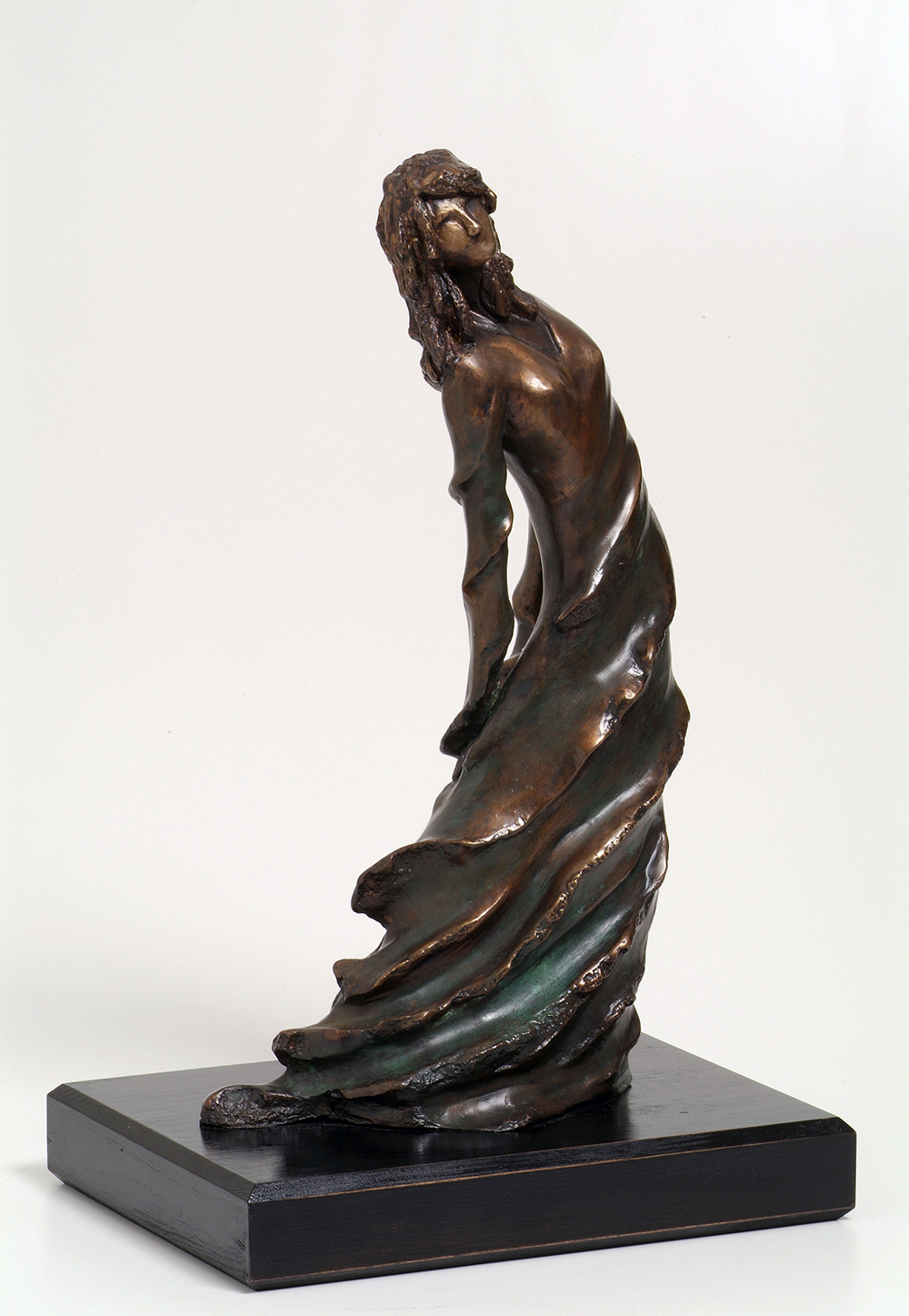 38. In Motion  | Bronze | 50x31 cm. 19.5x12 in.